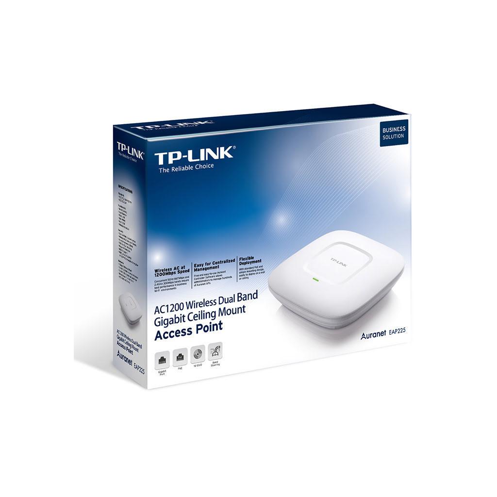 EAP225 - Point d'accès WiFi PoE Plafonnier | TP-Link