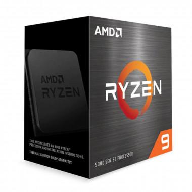 Ryzen 9 5900X - 4.8GHz/70Mo/AM4/Ss Vent./BOX | AMD