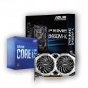 Kit Upgrade i5-10400F + CM + GTX 1660 SUPER | CYBERTEK