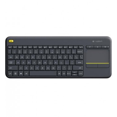Wireless Touch K400 Plus Black | Logitech