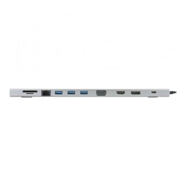 Station d'accueil 11 en 1 USB C PwD - USB3C-555   MCL Samar