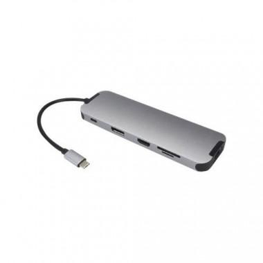 Station d'accueil 10 en 1 USB C 3.0 - USB3C-556   MCL Samar
