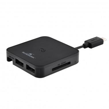 lecteur SD + HUB - USB type C | Bluestork