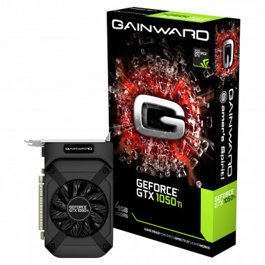 GTX 1050Ti 4GB D5 - GTX1050Ti/4Go/DVI/HDMI/DP   Gainward