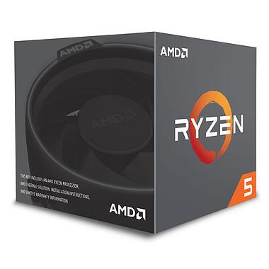 Ryzen 5 1600 - 3.6GHz/19Mo/AM4/Stealth/BOX | AMD
