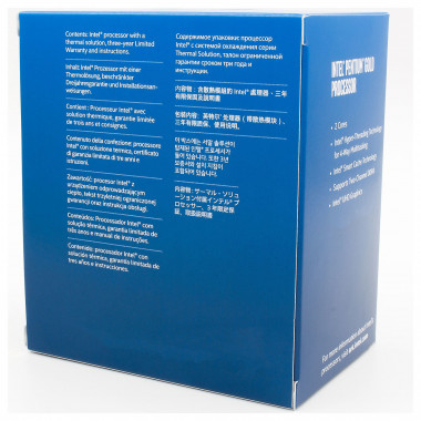 Pentium Gold G6400 - 4GHz/4Mo/LGA1200/BOX | Intel