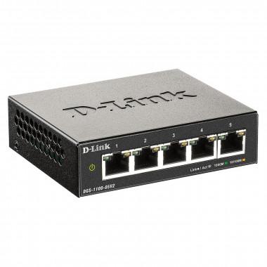 5 ports 10/100/1000 - DGS-1100-05V2   D-Link