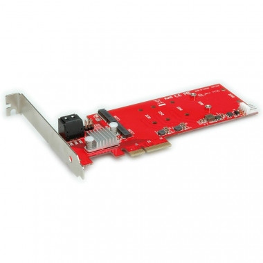 PCI-Express 4x - 2x M.2 NGFF RAID +2x SATA | Roline
