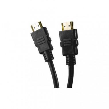 Câble HDMI Highspeed + Ethernet mâle/mâle - 0.5m   Générique