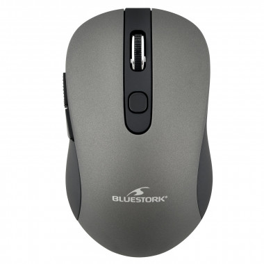 M-WL-OFF60-GREY - Wireless Mouse Grise 6 boutons | Bluestork