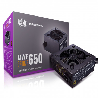 ATX 650W - MWE Bronze V2 MPE-6501-ACABW-BEU | Cooler Master