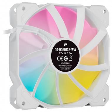iCUE SP120 Elite RGB White - CO-9050136-WW - CO9050136WW | Corsair