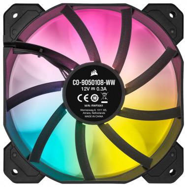 iCUE SP120 Elite RGB Black - CO-9050108-WW - CO9050108WW | Corsair