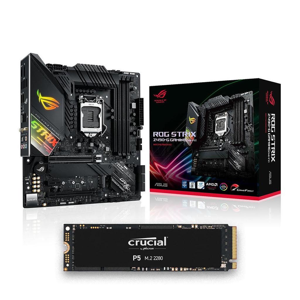 Kit Upgrade STRIX Z490-G GAMING (WI-FI) + SSD 500G -    CYBERTEK