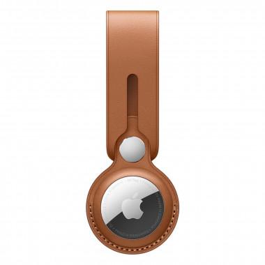Lanière AirTag - Cuir - Marron - MX4A2ZMA   Apple