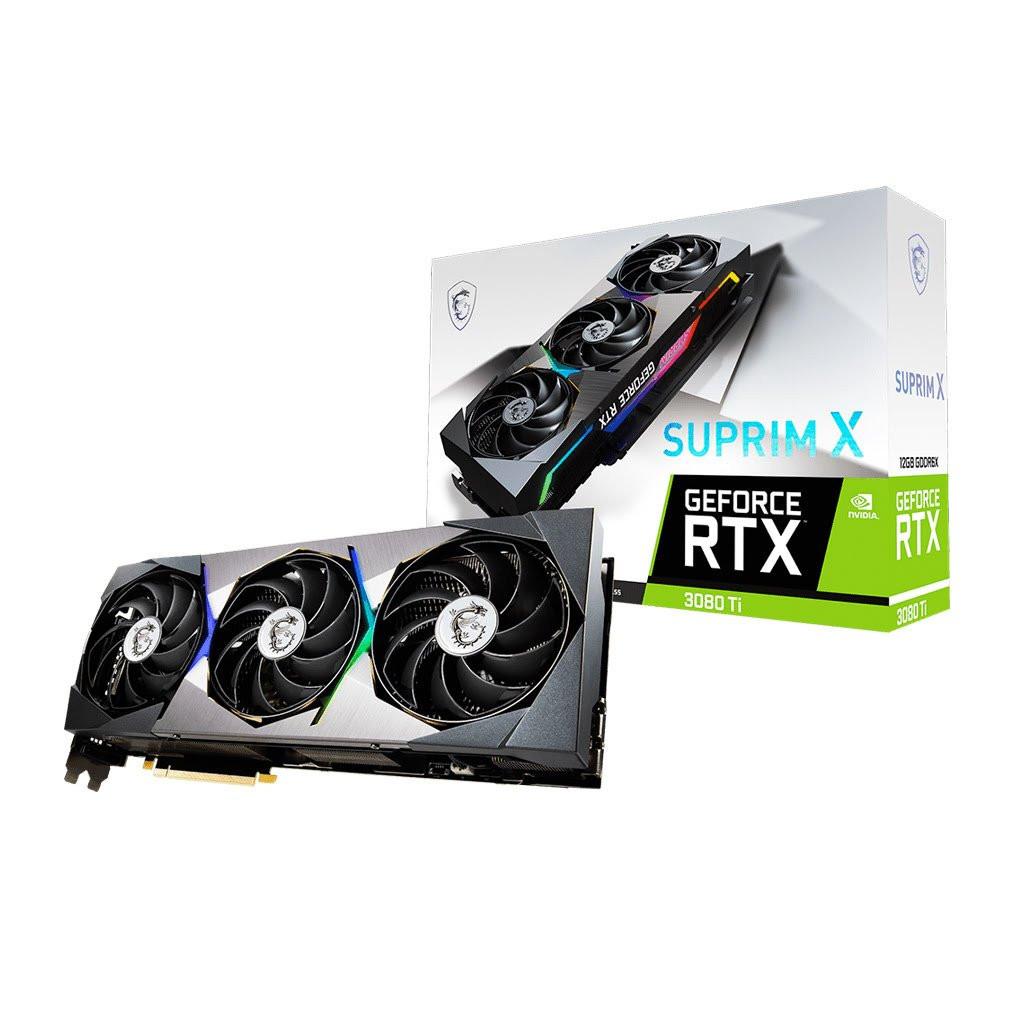 RTX 3080Ti SUPRIM X 12G - RTX3080Ti/12Go/HDMI/DP - 912V389077   MSI