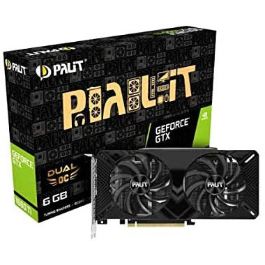 GTX1660Ti DUAL 6G - GTX1660Ti/6Go/HDMI/DP - NE6166T018J91160C   Palit