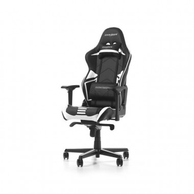 Racing Pro R131-NW - Noir/Blanc/Simili Cuir/4D  - GCR131NWV2 | DXRacer