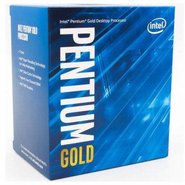 Pentium Gold G6405 - 4.1GHz/4Mo/LGA1200/BOX - BX80701G6405 | Intel