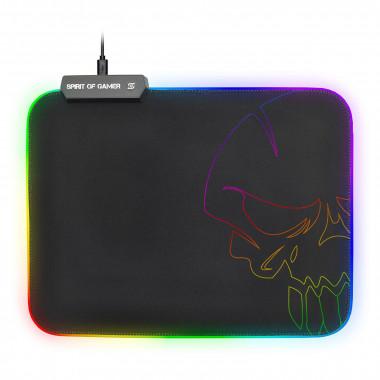 Skull RGB Gaming mouse pad - Taille M - SOGPADMRGB | Spirit Of Gamer
