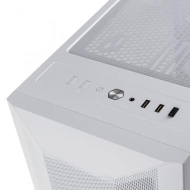 LANCOOL II Mesh RGB Blanc TG - MT/Sans Alim/E-ATX | Lian-Li