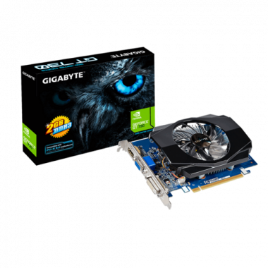 GT 730 GV-N730D3-2GI - GT730/2Go/VGA/DVI/HDMI - GVN730D32GI | Gigabyte
