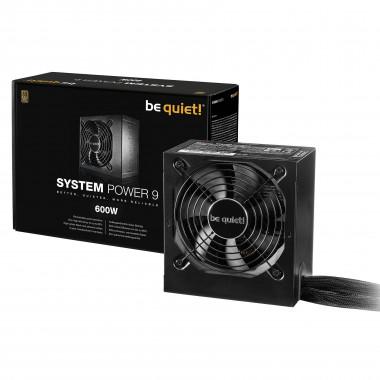 ATX 600W - System Power 9 - BN247 - BN247++ | Be Quiet!