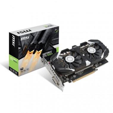 GTX 1050Ti 4GT OC - GTX1050Ti/4Go/DVI/HDMI/DP - GTX1050Ti4GTOC | MSI