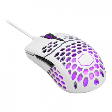 MasterMouse MM711 Blanche Mate - MM-711-WWOL1 | Cooler Master