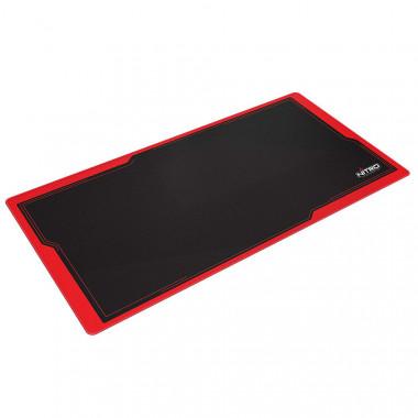 Deskmat DM9 Noir/Rouge - 90x40cm | Nitro Concepts