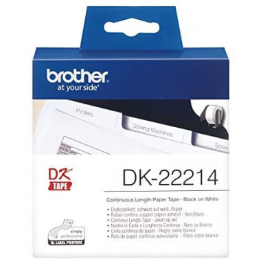 DK-22214 - Ruban Etiquettes 30x12 - DK22214 | Brother