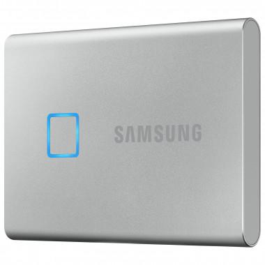 Portable T7 Touch 1To USB3.2 Gen. 2 MU-PC1T0S/WW - MUPC1T0SWW | Samsung