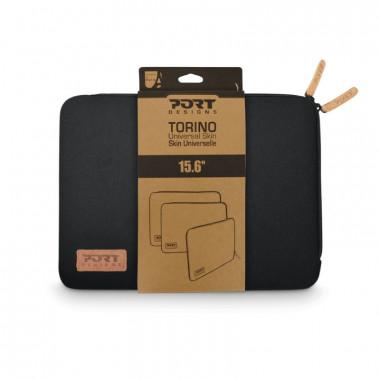 "Torino Sleeve 15.6"" Black | Port"