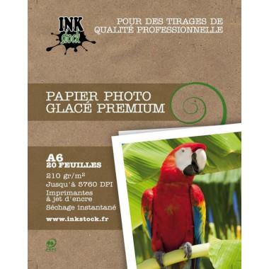 Papier Photo Glacé Premium 10x15 20f. 210Gr - H210A620 | InkStock