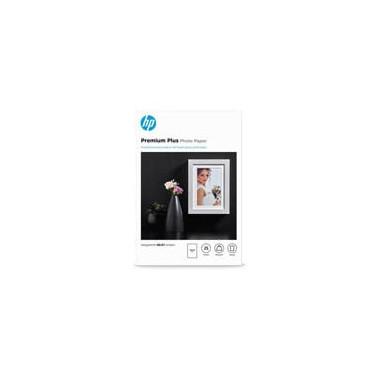 Papier photo brillant Premium Plus - 25 feuilles - CR677A | HP