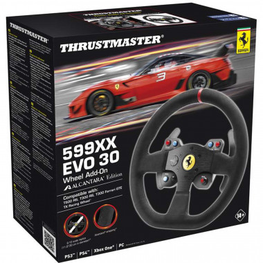 599XX EVO 30 Wheel Add-On Alcantara - 4060071   ThrustMaster