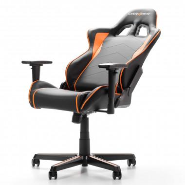 Formula F08-NO - Noir/Orange/Simili Cuir/3D - GCF08NOH1   DXRacer