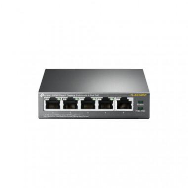 TL-SG1005P - 5 Ports Gigabit dont 4 PoE - TLSG1005P   TP-Link