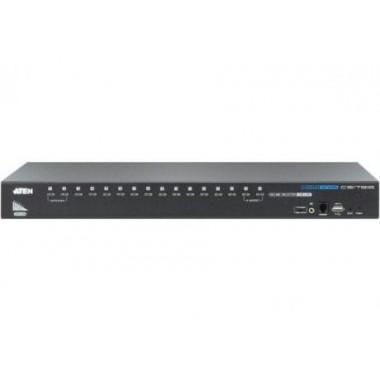 CS17916 KVM Rackable HDMI/USB/Jack - 16 UC - CS17916   Aten