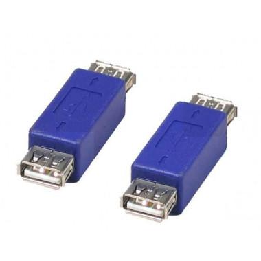 Adaptateur USB A Femelle - USB A Femelle - 532401 | Générique