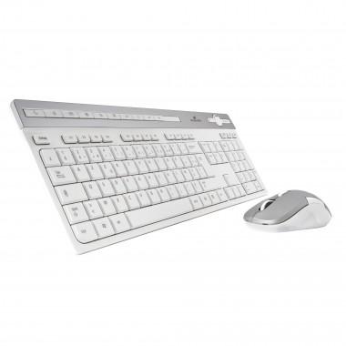 Wireless Pack Easy II-N Blanc/Silver | Bluestork