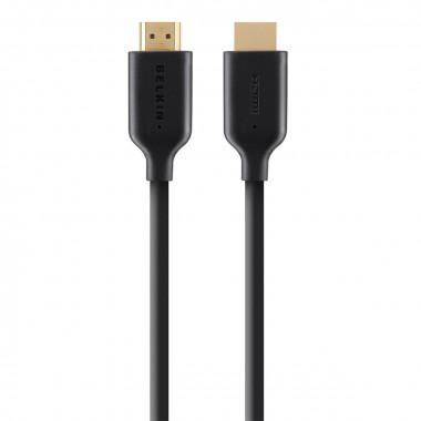 Câble 2.0 HDMI Highspeed + Ethernet mâle/mâle - 1m - V7E2HDMI401MBK   V7