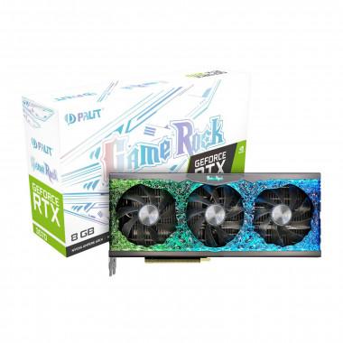 RTX3070 GameRock 8G LHR - RTX3070/8Go/HDMI/DP - NE63070019P21040G | Palit