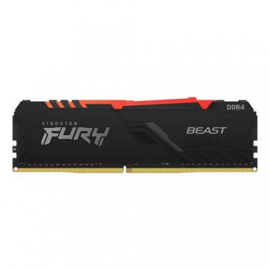 KF432C16BBA/8 RGB (8Go DDR4 3200 PC25600) - KF432C16BBA8 | Kingston