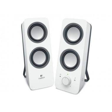 2HP - Multimedia Speakers Z200 Snow White | Logitech