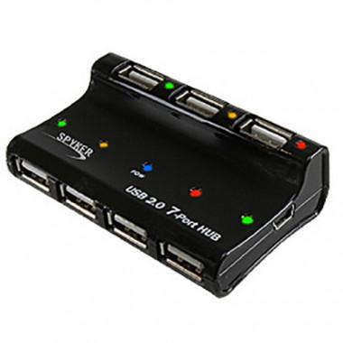 7 Ports USB 2.0 Alim. externe | Générique