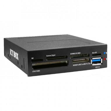 """Lect. cartes + 1 USB3.0 empl. 3.5"""" - IB-865-B    Icy Box"""