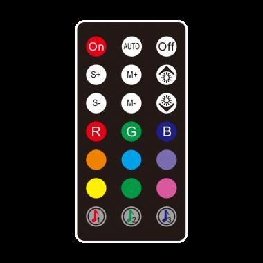CTR-001 Contrôleur ARGB Audio Sensitive - CTR001++3110CYB | M.RED