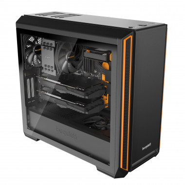 Silent Base 601 Window Orange - BGW25 | Be Quiet!