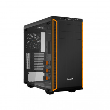 Pure Base 600 Orange Window BGW20 - mT/Ss Alim/ATX | Be Quiet!